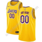 Los Angeles Lakers Trikot Herren 2019-20 Gold Icon Edition Basketball Trikots NBA Swingman