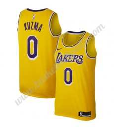 Los Angeles Lakers Trikot Herren 2019-20 Kyle Kuzma 0# Gold Replica Icon Edition Basketball Trikots ..