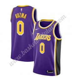 Los Angeles Lakers Trikot Herren 2019-20 Kyle Kuzma 0# Lila Statement Edition Basketball Trikots NBA..