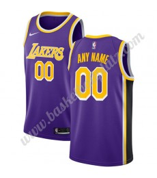 Los Angeles Lakers Trikot Herren 2019-20 Lila Statement Edition Basketball Trikots NBA Swingman..