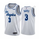 Los Angeles Lakers Trikot Herren 2019-20 Anthony Davis 3# Weiß Classics Edition Basketball Trikots NBA Swingman
