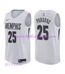 Memphis Grizzlies NBA Trikot Kinder 2018-19 Chandler Parsons 25# City Edition Basketball Trikots Swi..