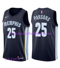 Memphis Grizzlies NBA Trikot Kinder 2018-19 Chandler Parsons 25# Icon Edition Basketball Trikots Swi..