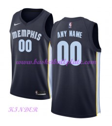 Memphis Grizzlies NBA Trikot Kinder 2018-19 Icon Edition Basketball Trikots Swingman..