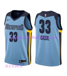 Memphis Grizzlies NBA Trikot Kinder 2018-19 Marc Gasol 33# Statement Edition Basketball Trikots Swin..