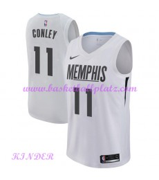 Memphis Grizzlies NBA Trikot Kinder 2018-19 Mike Conley 11# City Edition Basketball Trikots Swingman..