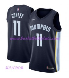 Memphis Grizzlies NBA Trikot Kinder 2018-19 Mike Conley 11# Icon Edition Basketball Trikots Swingman..