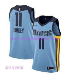Memphis Grizzlies NBA Trikot Kinder 2018-19 Mike Conley 11# Statement Edition Basketball Trikots Swi..
