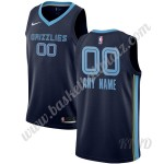 Memphis Grizzlies Trikot Kinder 2019-20 Marine Icon Edition NBA Trikots Swingman