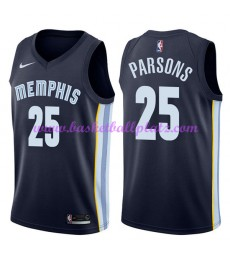Memphis Grizzlies Trikot Herren 2018-19 Chandler Parsons 25# Icon Edition Basketball Trikots NBA Swi..
