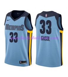 Memphis Grizzlies Trikot Herren 2018-19 Marc Gasol 33# Statement Edition Basketball Trikots NBA Swin..