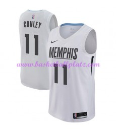 Memphis Grizzlies Trikot Herren 2018-19 Mike Conley 11# City Edition Basketball Trikots NBA Swingman..