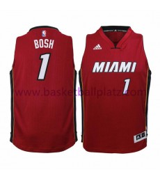 Miami Heat Trikot Kinder 15-16 Chris Bosh 1# Alternate Basketball Trikot Swingman..
