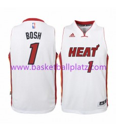 Miami Heat Trikot Kinder 15-16 Chris Bosh 1# Home Basketball Trikot Swingman..