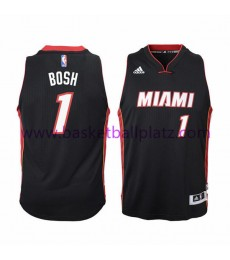 Miami Heat Trikot Kinder 15-16 Chris Bosh 1# Road Basketball Trikot Swingman..