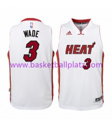 Miami Heat Trikot Kinder 15-16 Dwyane Wade 3# Home Basketball Trikot Swingman..