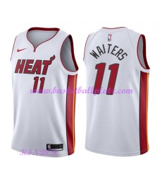 Miami Heat NBA Trikot Kinder 2018-19 Dion Waiters 11# Association Edition Basketball Trikots Swingma..