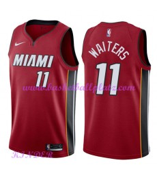 Miami Heat NBA Trikot Kinder 2018-19 Dion Waiters 11# Statement Edition Basketball Trikots Swingman..