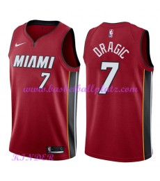 Miami Heat NBA Trikot Kinder 2018-19 Goran Dragic 7# Statement Edition Basketball Trikots Swingman..