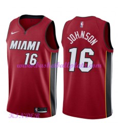 Miami Heat NBA Trikot Kinder 2018-19 James Johnson 16# Statement Edition Basketball Trikots Swingman..