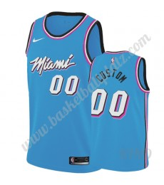 Miami Heat Trikot Kinder 2019-20 Blau City Edition NBA Trikots Swingman..