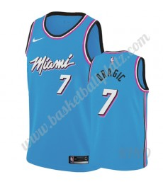 Miami Heat Trikot Kinder 2019-20 Goran Dragic 7# Blau City Edition NBA Trikots Swingman..