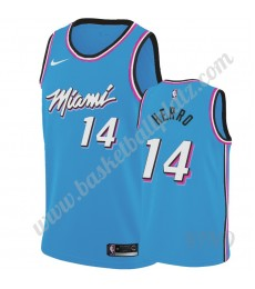 Miami Heat Trikot Kinder 2019-20 Tyler Herro 14# Blau City Edition NBA Trikots Swingman..
