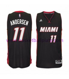 Miami Heat Trikot Herren 15-16 Chris Andersen 11# Road Basketball Trikot Swingman