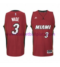 Miami Heat Trikot Herren 15-16 Dwyane Wade 3# Alternate Basketball Trikot Swingman..