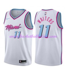 Miami Heat Trikot Herren 2018-19 Dion Waiters 11# City Edition Basketball Trikots NBA Swingman..