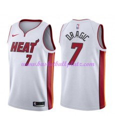 Miami Heat Trikot Herren 2018-19 Goran Dragic 7# Association Edition Basketball Trikots NBA Swingman..