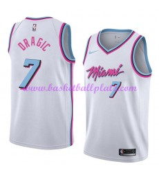 Miami Heat Trikot Herren 2018-19 Goran Dragic 7# City Edition Basketball Trikots NBA Swingman..