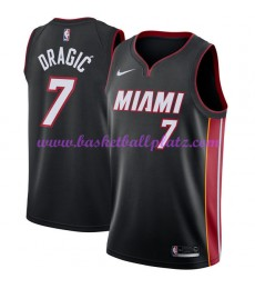 Miami Heat Trikot Herren 2018-19 Goran Dragic 7# Icon Edition Basketball Trikots NBA Swingman..