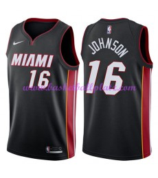 Miami Heat Trikot Herren 2018-19 James Johnson 16# Icon Edition Basketball Trikots NBA Swingman..