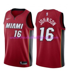 Miami Heat Trikot Herren 2018-19 James Johnson 16# Statement Edition Basketball Trikots NBA Swingman..