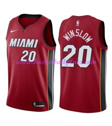 Miami Heat Trikot Herren 2018-19 Justise Winslow 20# Statement Edition Basketball Trikots NBA Swingm..