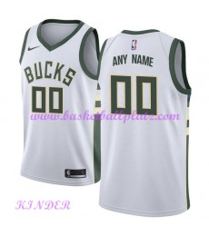 Milwaukee Bucks NBA Trikot Kinder 2018-19 Association Edition Basketball Trikots Swingman..