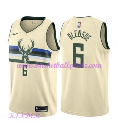 Milwaukee Bucks NBA Trikot Kinder 2018-19 Eric Bledsoe 6# City Edition Basketball Trikots Swingman..
