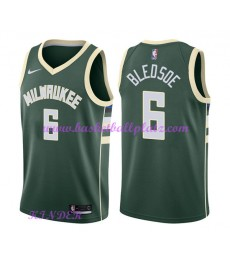 Milwaukee Bucks NBA Trikot Kinder 2018-19 Eric Bledsoe 6# Icon Edition Basketball Trikots Swingman..