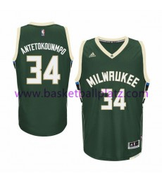 Milwaukee Bucks Trikot Herren 15-16 Giannis Antetokounmp 34# Road Basketball Trikot Swingman..