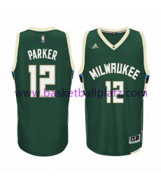 Milwaukee Bucks Trikot Herren 15-16 Jabari Parker 12# Road Basketball Trikot Swingman..