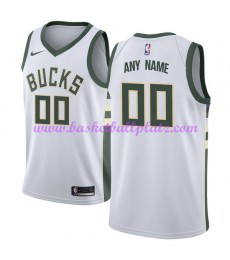 Milwaukee Bucks Trikot Herren 2018-19 Association Edition Basketball Trikots NBA Swingman