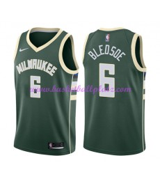 Milwaukee Bucks Trikot Herren 2018-19 Eric Bledsoe 6# Icon Edition Basketball Trikots NBA Swingman..