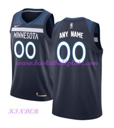 Minnesota Timberwolves NBA Trikot Kinder 2018-19 Icon Edition Basketball Trikots Swingman..