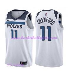Minnesota Timberwolves NBA Trikot Kinder 2018-19 Jamal Crawford 11# Association Edition Basketball T..