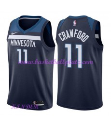 Minnesota Timberwolves NBA Trikot Kinder 2018-19 Jamal Crawford 11# Icon Edition Basketball Trikots ..