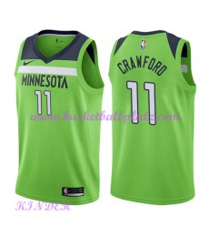 Minnesota Timberwolves NBA Trikot Kinder 2018-19 Jamal Crawford 11# Statement Edition Basketball Tri..