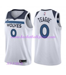 Minnesota Timberwolves NBA Trikot Kinder 2018-19 Jeff Teague 0# Association Edition Basketball Triko..
