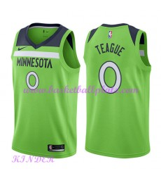 Minnesota Timberwolves NBA Trikot Kinder 2018-19 Jeff Teague 0# Statement Edition Basketball Trikots..