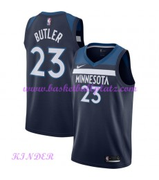 Minnesota Timberwolves NBA Trikot Kinder 2018-19 Jimmy Butler 23# Icon Edition Basketball Trikots Sw..